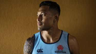 Israel Folau is in more hot water after a controversial social media post.