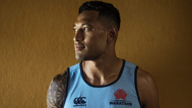 Israel Folau is in hot water over his remarks about gay people.
