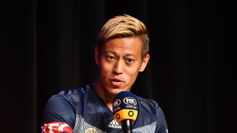 Safe bet: Players like Victory marquee man Keisuke Honda are almost assured of making an impact on the pitch.