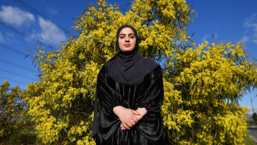 Sundus Ibrahim has developed anxiety as a result of racism at school.