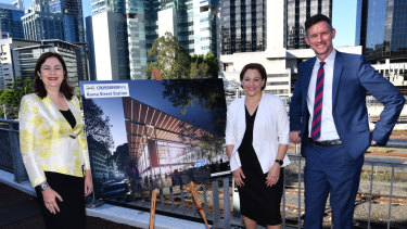 Federal Labor has promised $2.24 billion towards the Queensland Government's $5.4 billion underground rail project, while the Coalition rejects the project.