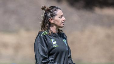 Canberra United coach Heather Garriock.
