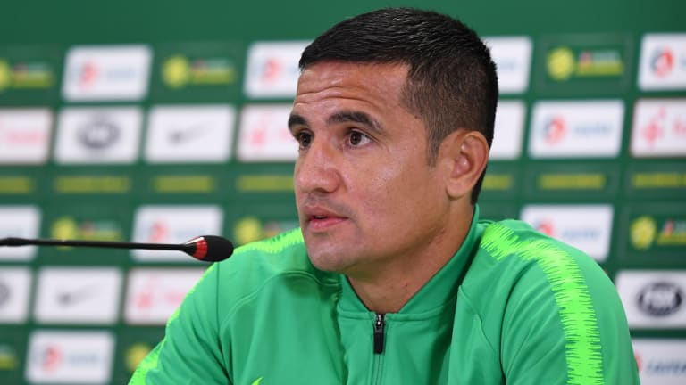 """It means so much"": Tim Cahill."