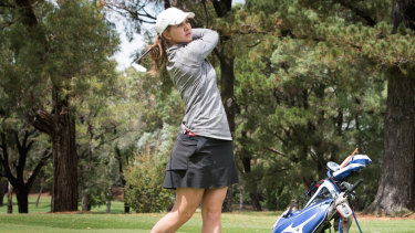 Katja Pogacar finished second at the Canberra Classic last week.
