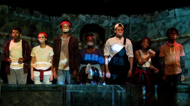 L-R: Oarabile Ditsele, Ameera Conrad, Sizwesandisile Mnisi, Tankiso Mamabolo, Cleo Raatus, Thando Mangcu and Sihle Mnqwazana.