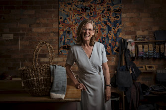 Bronwyn Newnham, of The Fair Trader Store in Northcote, has seen a 25 per cent increase in sales compared with this time last year. She says there has been an outpouring of support for her business after restrictions were lifted this week.