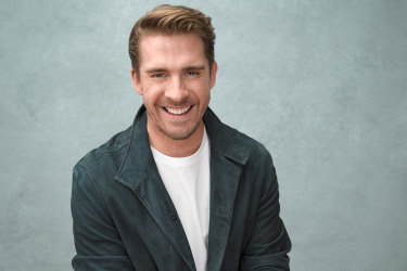 """Hugh Sheridan: """"I wasn't opposed to meeting a girl, but it just so happened I met a guy."""""""