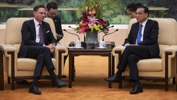 China, EU to form group to modernise global trade rules