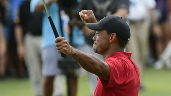 Tiger's journey from last-chance saloon to Tour winner once more