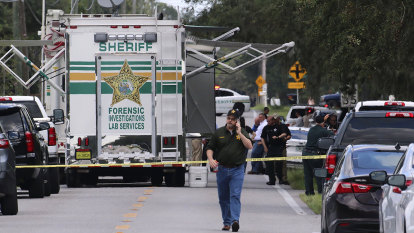 Florida 'war hero' with mental issues kills mother still holding baby