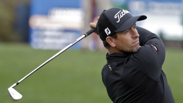 Major threat: Adam Scott appears primed to challenge for his second green jacket.