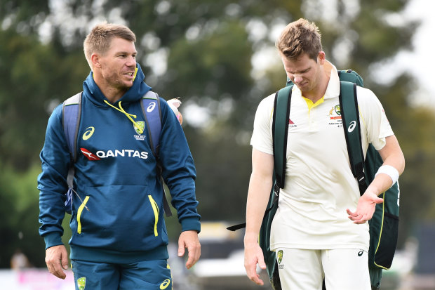 Steve Smith and David Warner were spoke candidly to teammates as part of their reintegration last year.