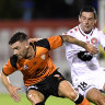 Second-half slump costs Wanderers against Roar
