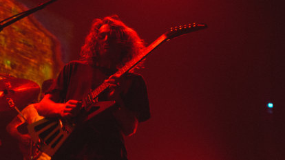 Forget banter, 'King Gizzard' talk in mosh, unveil new songs at Forum