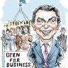 CBD Melbourne: Pyne back in the Canberra picture