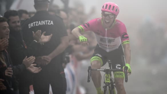 Simon Yates' Vuelta lead trimmed in gruelling mountain stage