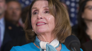The 'Pelosi power scarf' has become something of a mini-trend.
