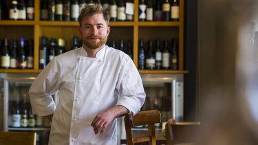 Mezzalira head chef Federico Ferrario.