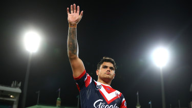 The Tigers are favourites to sign want-away Roosters centre Latrell Mitchell.