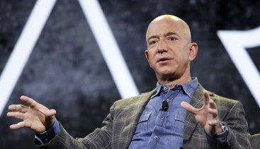 We need the moon to save the Earth, Jeff Bezos says.
