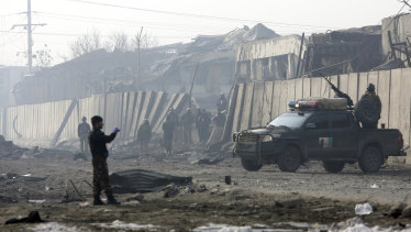 The Taliban used a suicide bomber to attack Kabul on January 15.