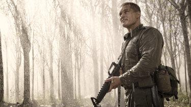 Travis Fimmel as Major Harry Smith in <i>Danger Close: The Battle of Long Tan</i>.