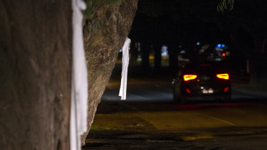 White ribbons adorn much of Cowes after the death of much-loved mum Samantha Fraser.