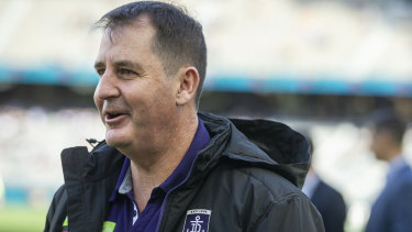 Ross Lyon has had a reasonable start  to 2019 but talk of contract extensions mid-season are premature.