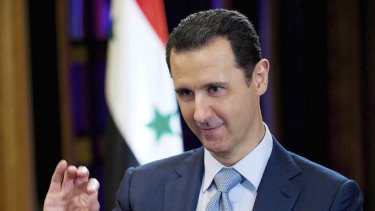 Syrian leader Bashar Assad has presided over a 10-year war.
