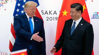 US-China relations have plunged since Donald Trump and Xi Jinping met at the G20 in June last year.