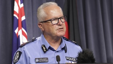 WA Police Commissioner Chris Dawson.