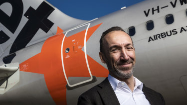 "Jetstar chief Gareth Evans labelled the move ""unforgivable."""