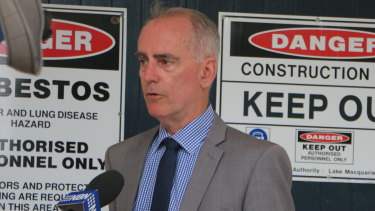 Lake Macquarie's Greg Piper says it's difficult to run a successful campaign as an independent.