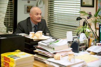 Bratton in the US version of The Office.