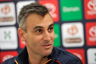 Scott Camporeale has been let go by the Crows, after their football department review.
