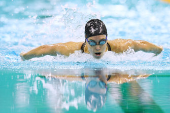 Emma McKeon continued her brilliant form in the 100m butterfly on Saturday.