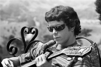 Lou Reed in a scene from Todd Haynes' The Velvet Underground.