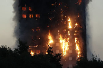 Combustible cladding on London's Grenfell Tower exacerbated a fire that claimed 72 lives in 2017.