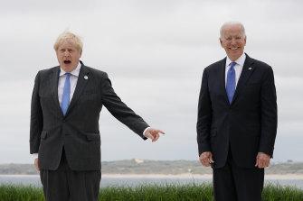 "In June, British Prime Minister Boris Johnson described Joe Biden as ""a breath of fresh air""."