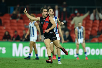 Will Snelling has settled in well at the Bombers.