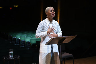 Denée Benton performing the Fever section of the new musical.