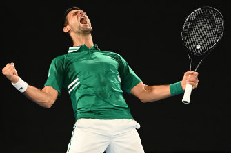 Novak Djokovic has equalled Roger Federer's record for week's at the top of the ATP rankings.