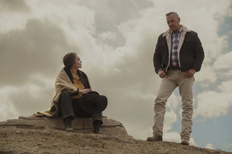Diane Lane and Kevin Costner's relationship is tenderly drawn in Let Him Go.
