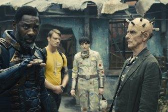 Idris Elba, Joel Kinnaman, David Dastmalchian and Peter Capaldi make the most of their roles.