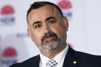 NSW Deputy Premier John Barilaro will be backing dying with dignity laws.