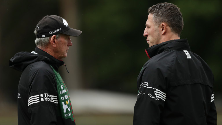 Sam Burgess South Sydney Rabbitohs Coach Wayne Bennett Claims He Was Knew Nothing Of Allegations Team Doctor Andrew Mcdonald To Work With Team In 2020 Nrl Finals