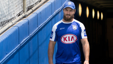 Time to deliver: Kieran Foran know he owes the Dogs a big season.