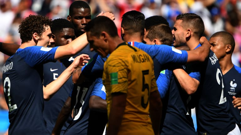 The Socceroos were valiant in defeat against a highly rated French outfit.