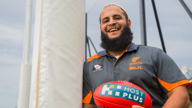 Ali Faraj has been an important part of the Giants' growth in Western Sydney.