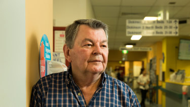 John Carbery has left his entire estate in his will to Sydney's Prince of Wales Hospital.